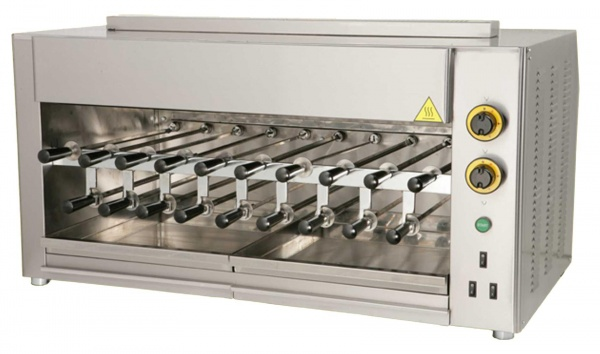 Profi Gas Churrasco Grill – Multi Grill, 19 Spieße